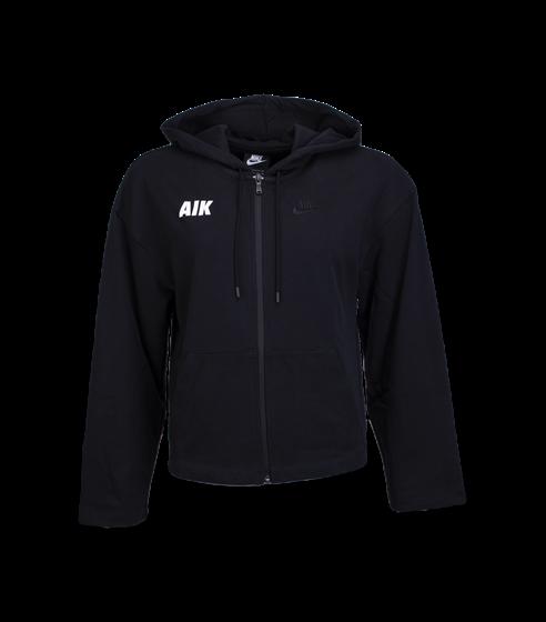 Nike ziphood svart AIK font Dam