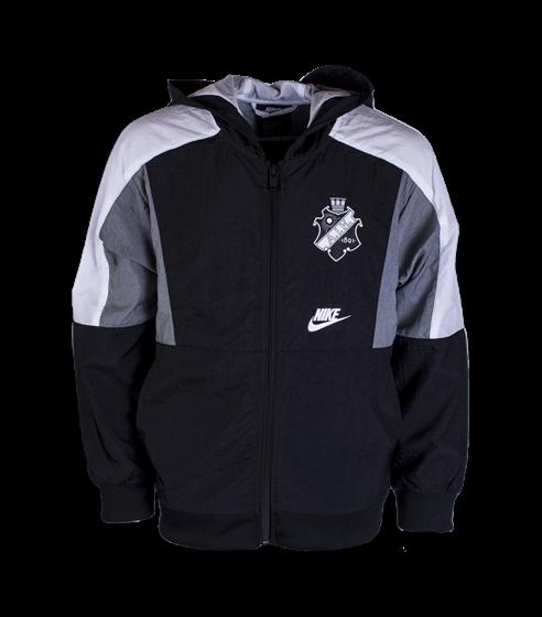 Nike vindjacka svart/grå/vit Barn