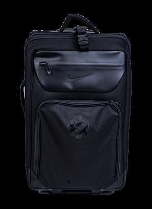 Nike resväska svart sköld