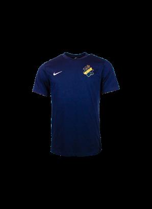 Nike marin t-shirt färgad sköld Brn