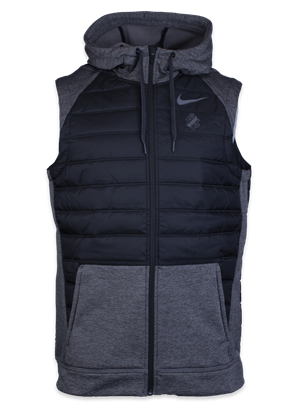 Nike träningsväst svart/grå sköld