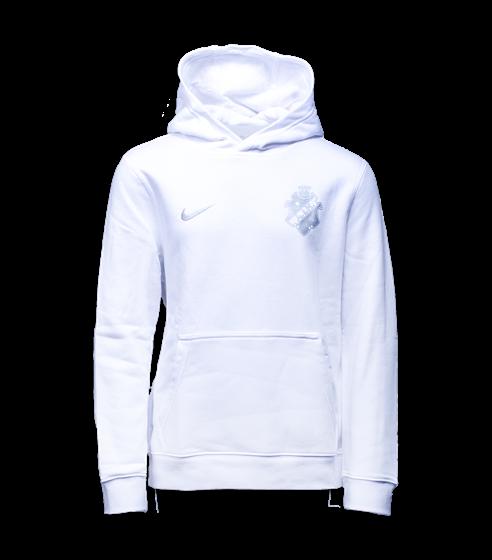 Nike hood vit Barn