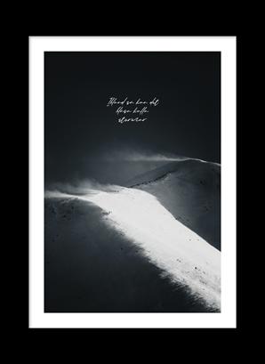 Poster Ibland så kan det blåsa kalla stormar