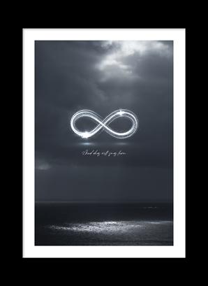 Poster Med dig vill jag leva - hav