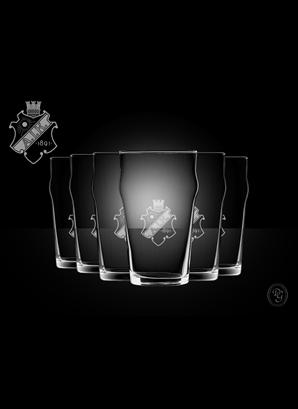 Glas Pint Sköld 6-p