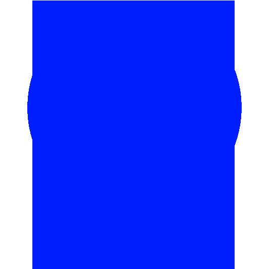 Pastellblå