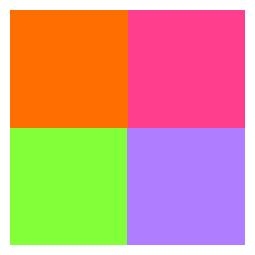Multifärg