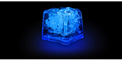 LED Ice cubes Blue