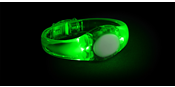 LED Audio Bracelet Green
