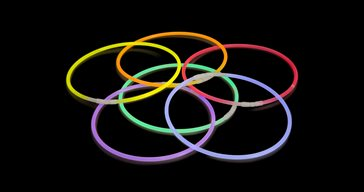 Glowsticks Necklaces Multi colours