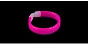 Glowsticks Wide Bracelet Pink