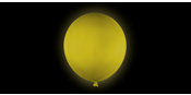 Giant Yellow Balloon 80 cm