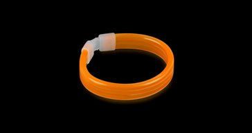 Glowsticks Brett Armband Orange