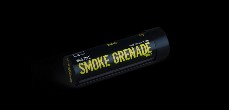 Smoke grenade Yellow