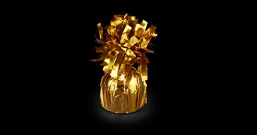 Gold balloonweight