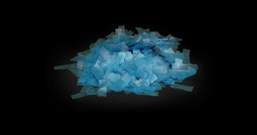Biodegradable confetti Blue 1 kg
