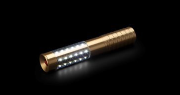 Gold led bottle sparkler m1