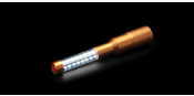 Gold led bottle sparkler m2