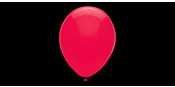 Professional 33 cm red balloons