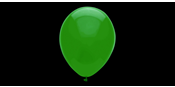 Professional 33 cm green balloons
