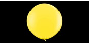 Yellow mega balloon 90 cm
