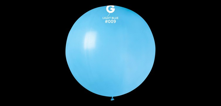 Giant Light blue Balloon 80 cm