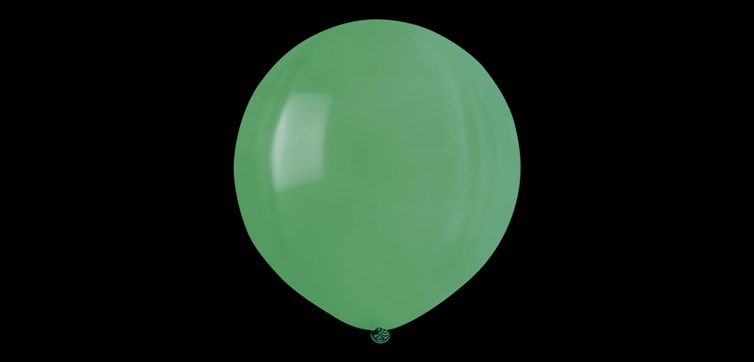 Giant Green Balloon 80 cm