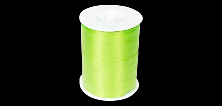 Lime green Ribbon 250 m