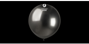 Big Space grey chrome balloons