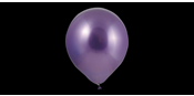 Purple chrome balloons
