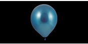 Blue chrome balloons
