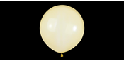 Big round crystal yellow balloons