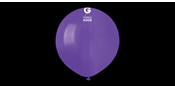 Big round purple balloons