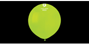Big round lime green balloons