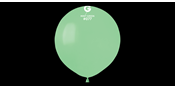 Big round mint balloons