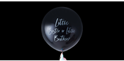 Gender reveal Little Brother or Sister balloon