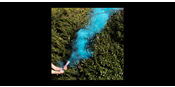Blue Gender reveal smoke cannon
