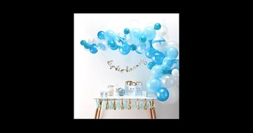 Balloon arch kit blue