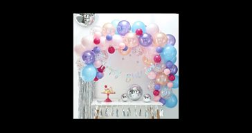 Balloon arch kit pastell