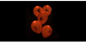 Led balloons Halloween Orange