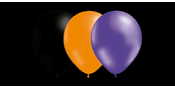Balloon combo Black/Purple/Orange