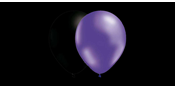 Balloon combo Black/Purple metallic