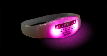 LED bracelet with remote control