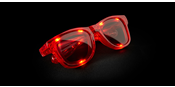 LED Glasses Red