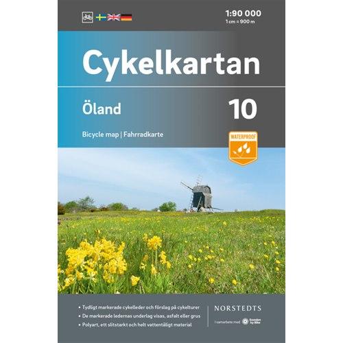 Cykelkarta, Öland 1:90000
