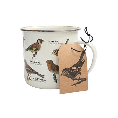 Emaljmugg Birds