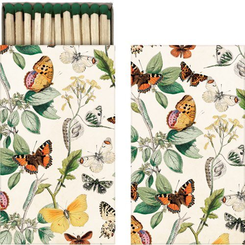 Box of matches Butterflies Vintage