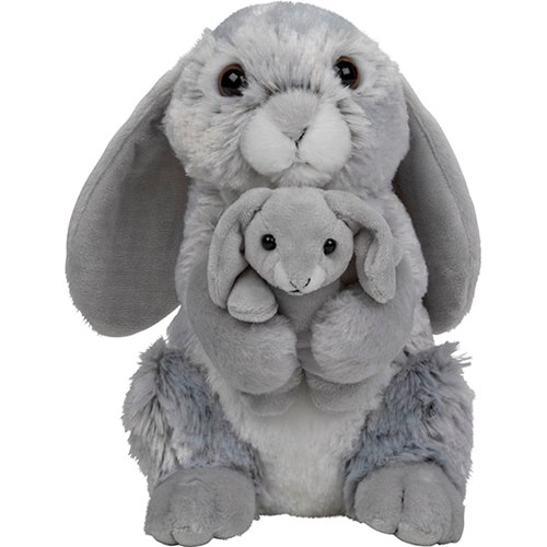 Mjukisdjur Kanin med baby