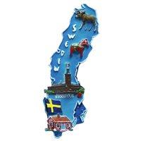 Magnet Sweden karta