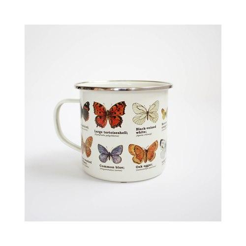 Emaljmugg Butterflies